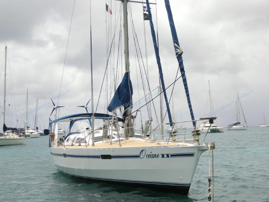 Ovni 43 : Mouillage en Martinique